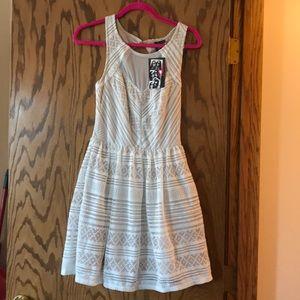 Trixxi tan dress